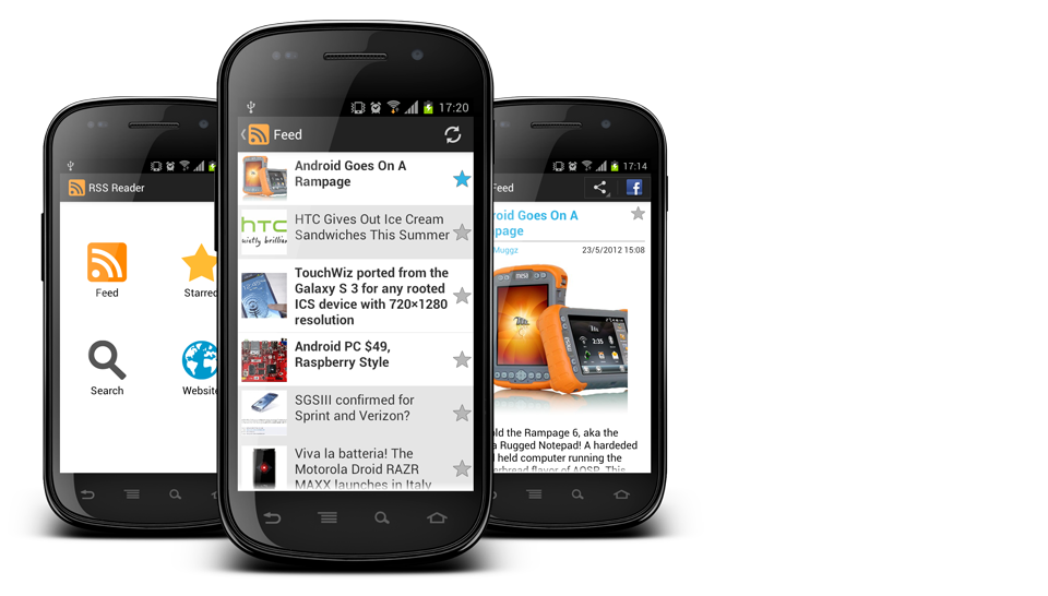 myRSSReader – The ultimate Android App for your Blog