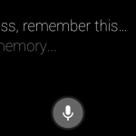 Rememory for Google Glass